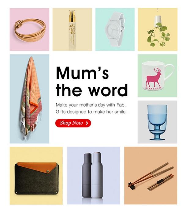 Anneler Günü Kampanyası Fab
