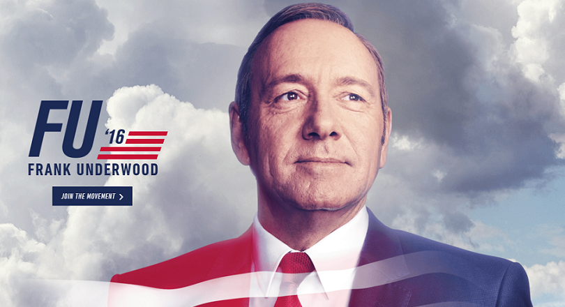 frank underwood micro site